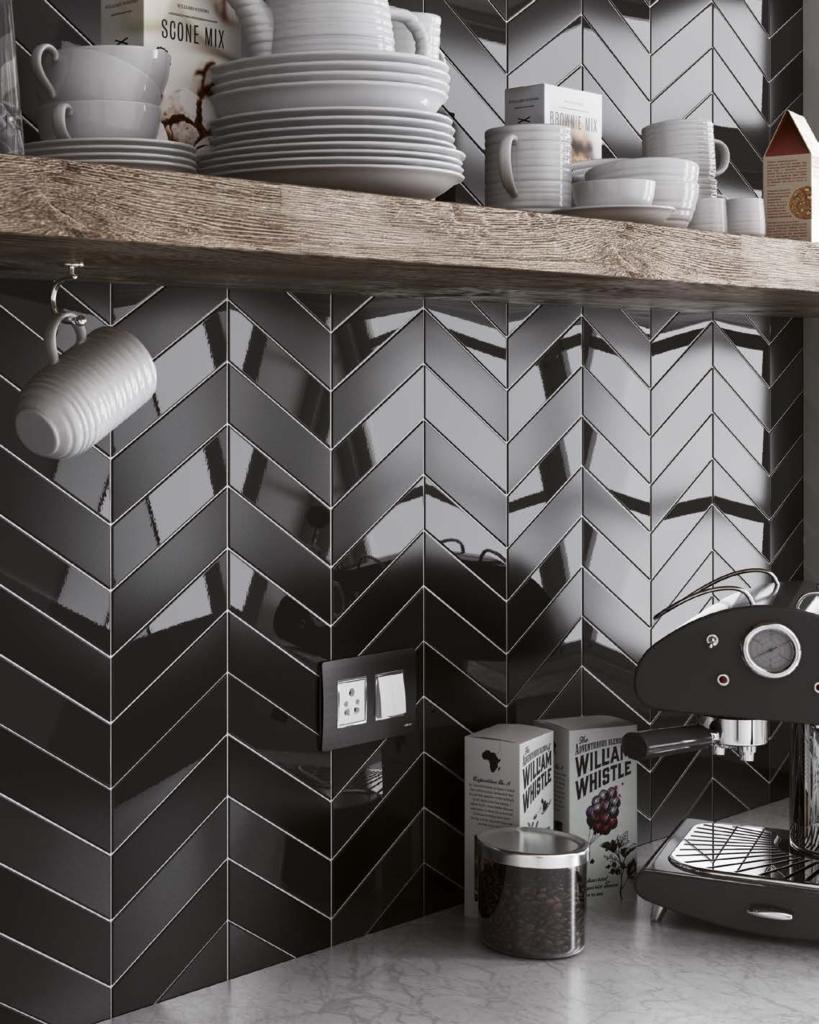 kuchnia, co na ścianę w kuchni, fartuch, kafle, płytki